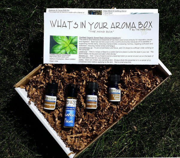 The AromaBox Essential Oil Subscription for April
