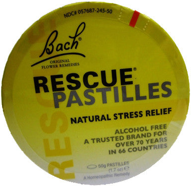 Bach Rescue Pastilles Orange Elder Flower Flavor