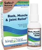 Back, Muscle & Joint Relief by King Bio