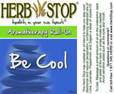 Be Cool Roll-On Oil Blend Label