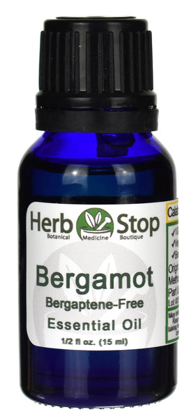 Bergamot Bergaptene-Free Essential Oil Bottle
