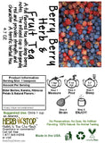 Berry Berry Herb & Fruit Tea Label