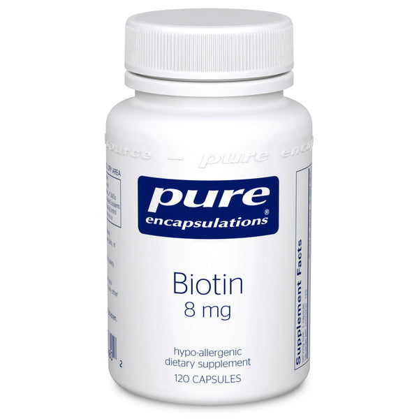 Pure Encapsulations Biotin 8mg
