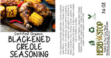 Blackened Creole Seasoning Label