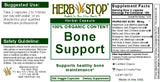 Bone Support Capsules Label