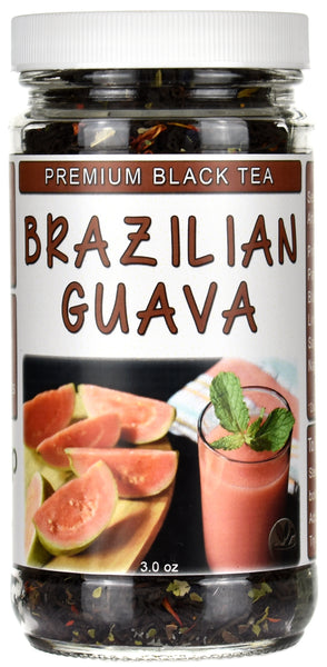 Brazilian Guava Loose Black Tea Jar
