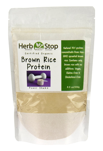 Brown Rice Protein Organic Powder Bag