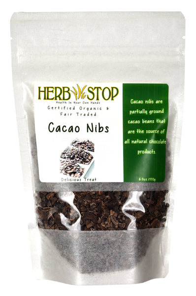 Certified Organic Cacao Nibs