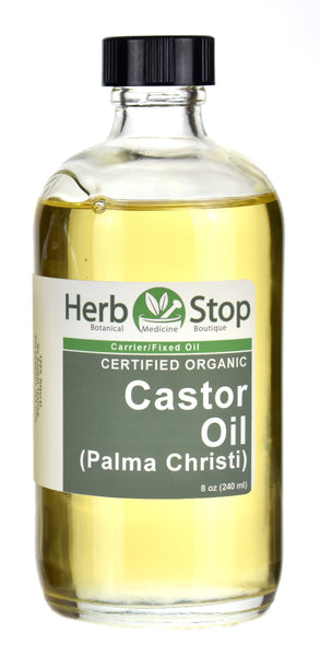 Organic Castor Oil 8oz Bottle