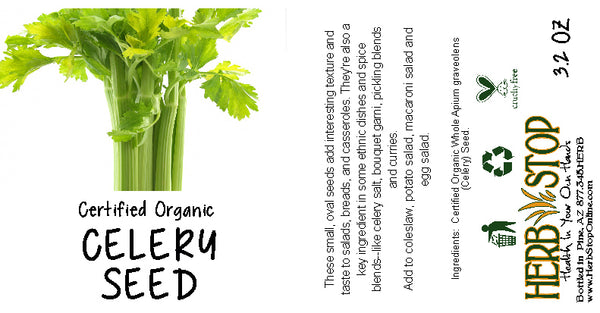 Celery Seed Label