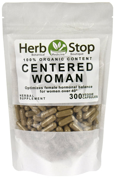 Centered Woman Capsules Bag