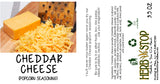 Cheddar Cheese Popcorn Seasoning Label