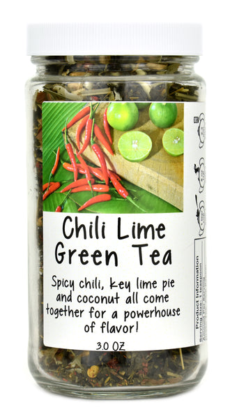 Chili Lime Green Tea Jar
