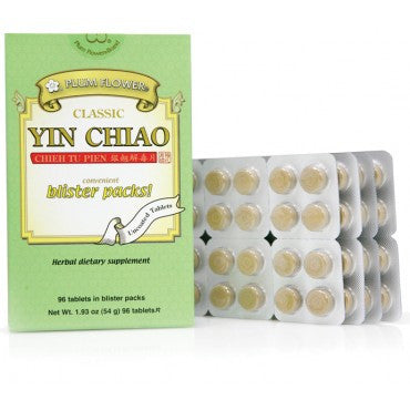 Yin Chiao Chieh Tu Tablets - Blister Pack