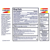 ColdCalm Drug Facts
