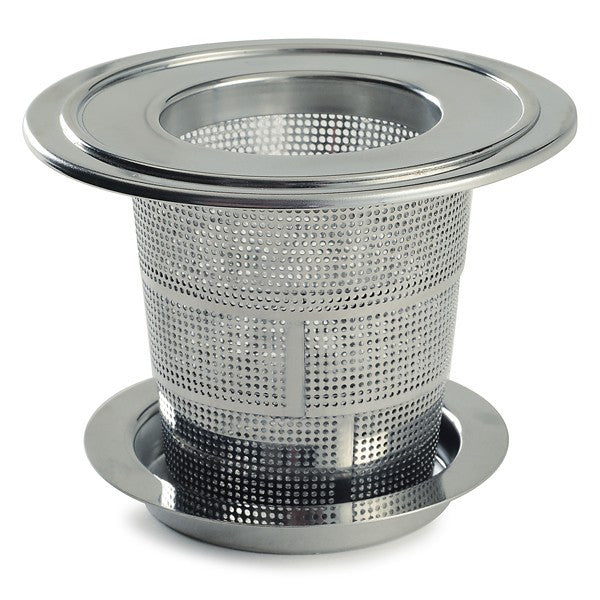 Collapsible Stainless Steel Tea Infuser with Drip Catcher
