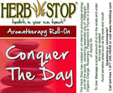 Conquer The Day Roll On Label