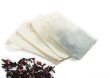 Cotton Brew Bags with Herbs