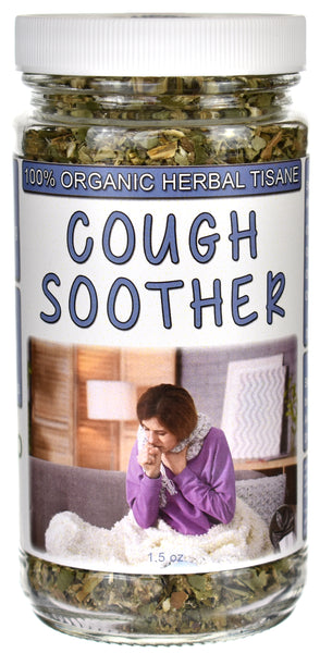 Organic Cough Soother Tea Jar