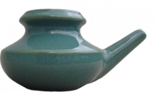 Blue-Green Neti Pot