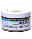 Re-Mineralizing Tooth Powder - 4 oz Plastic Jar