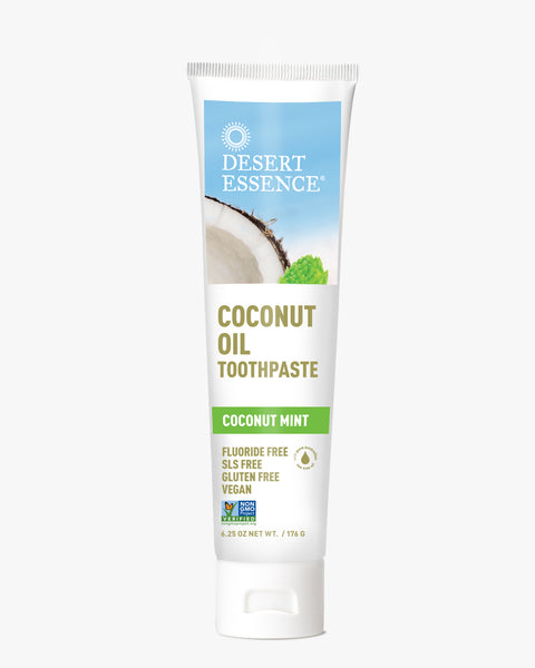 Desert Essence Activated Coconut Oil Toothpaste