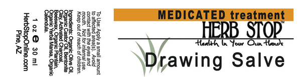 Drawing Salve Label