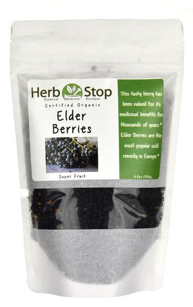 Bulk Organic Elder Berries
