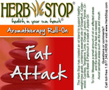 Fat Attack Roll-On Label
