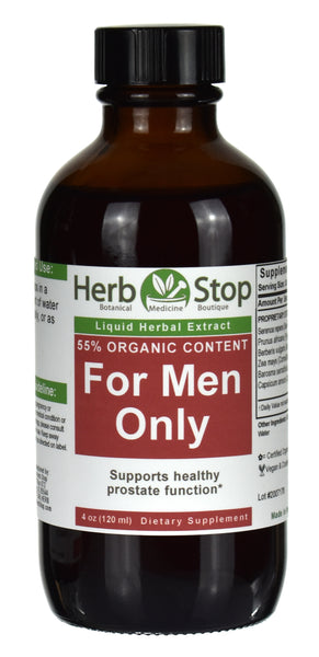 For Men Only Extract 4 oz Bottle