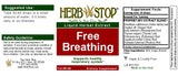 Free Breathing Extract Label