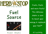 Fuel Source Power Shake Label