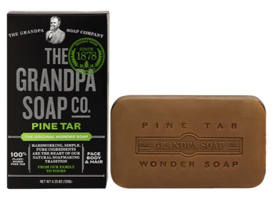 The Grandpa Soap Company Pine Tar Soap