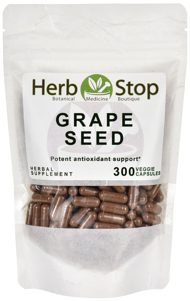 Grape Seed Capsules Bulk Bag