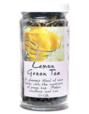 Lemon Gunpowder Green Tea - Glass Jar