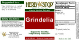 Grindelia  Extract Label