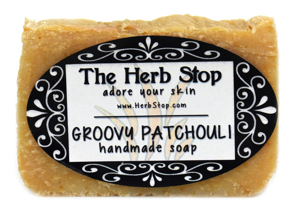 Groovy Patchouli Handmade Soap