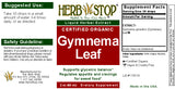 Gymnema Extract Label