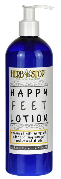Happy Feet Lotion Bottle