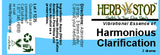 Harmonious Clarification Essence Label