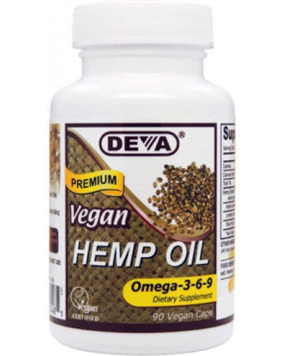 Vegan Hemp Oil Capsules