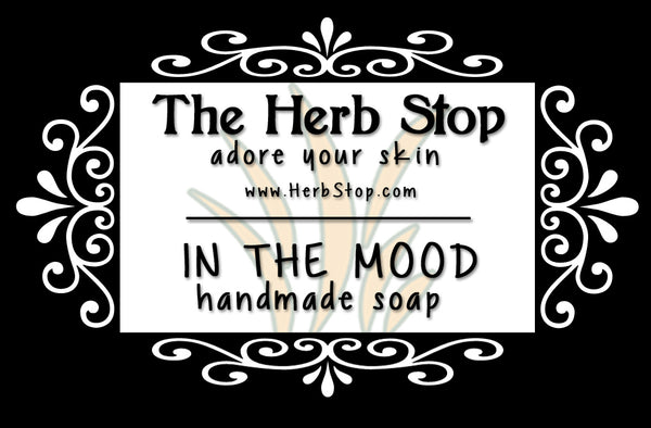 In the Mood Handmade Soap Label