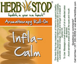 Infla-Calm Roll-On Oil Blend Label