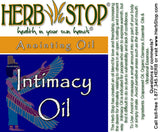 Intimacy Roll-On Oil Blend Label