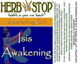 Isis Awakening Roll-On Oil Blend Label