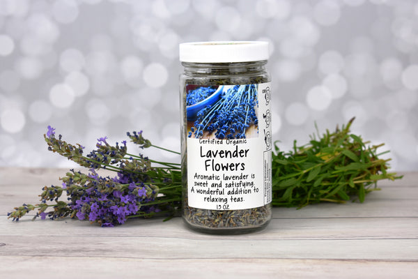 Lavender Tea with Flowers