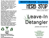 Leave In Detangler Label