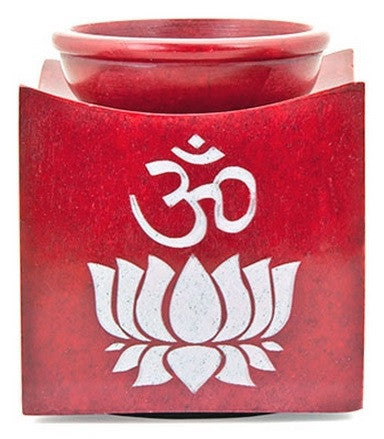 Lotus and Om Aroma Lamp