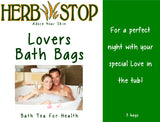 Lovers Bath Bags Label