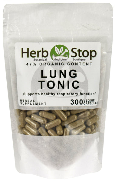 Lung Tonic Capsules Bag